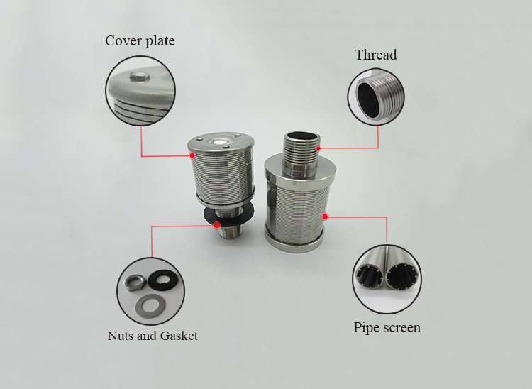 stainless steel filter nozzles industrial strainer nozzles