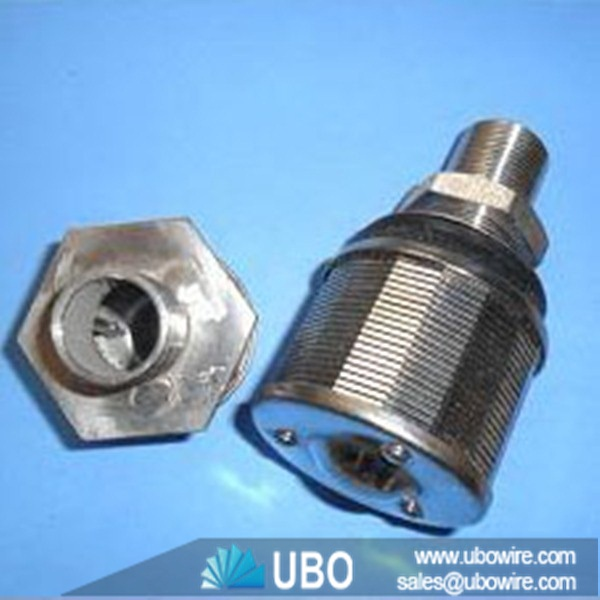 Johnson type wedge wire screen nozzle filter strainer for industrial ...